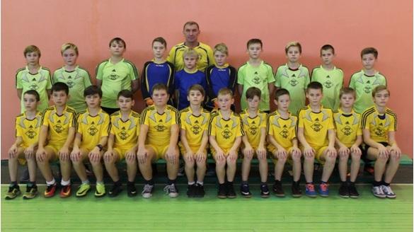 Команда 2004 г.р. тренер Зайцев Владимир Иванович