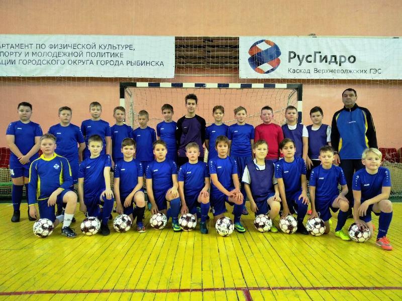 Команда 2009 г.р. тренер Романов С.М.