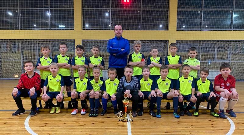 Команда 2012 г.р. тренер Калязин Максим Николаевич