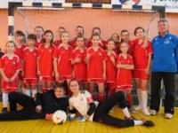 Команда МАУ СШ 6 - Чемпионы Первенства ЯО по мини-футболу среди девочек 2009-2010 г.р.