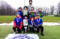 Команда МАУ СШ 6 (2013) - победитель Открытого первенства по футболу