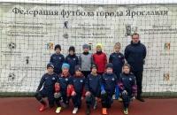Команда СШ №6 - серебряный призер в Первенстве Ярославля по футболу среди юношей 2012 г.р.