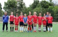 Команда СШ №6 - серебряный призер в Первенстве ЯО по футболу 5*5 среди девичьих команд